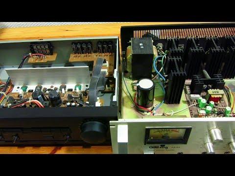 Amplificador integrado DOMÉSTICO vs Amplificador integrado de MEGAFONÍA con transformador