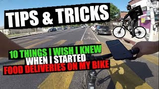 Tips and Tricks - 10 Things I Wish I Knew When I Started Food Deliveries on My Bike