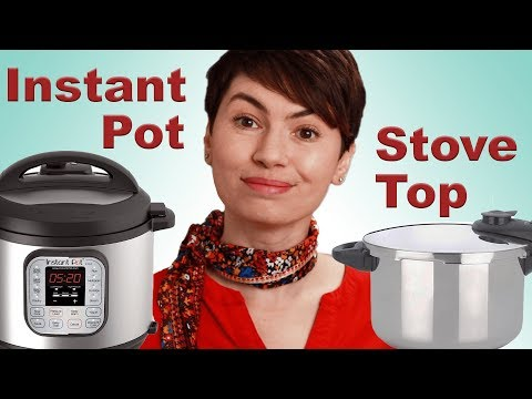 Instant Pot vs. Stovetop Pressure Cooker (which one is right for you?)