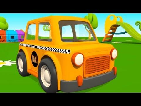 Leo Der Lastwagen Hat Besuch Von Einem Taxi