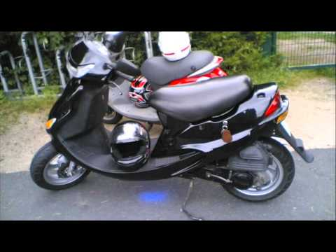 kymco kb 50 - youtube