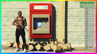 GTA 5 Online ATM Money Glitch! 1.45 (PS4/XBOX/PC)