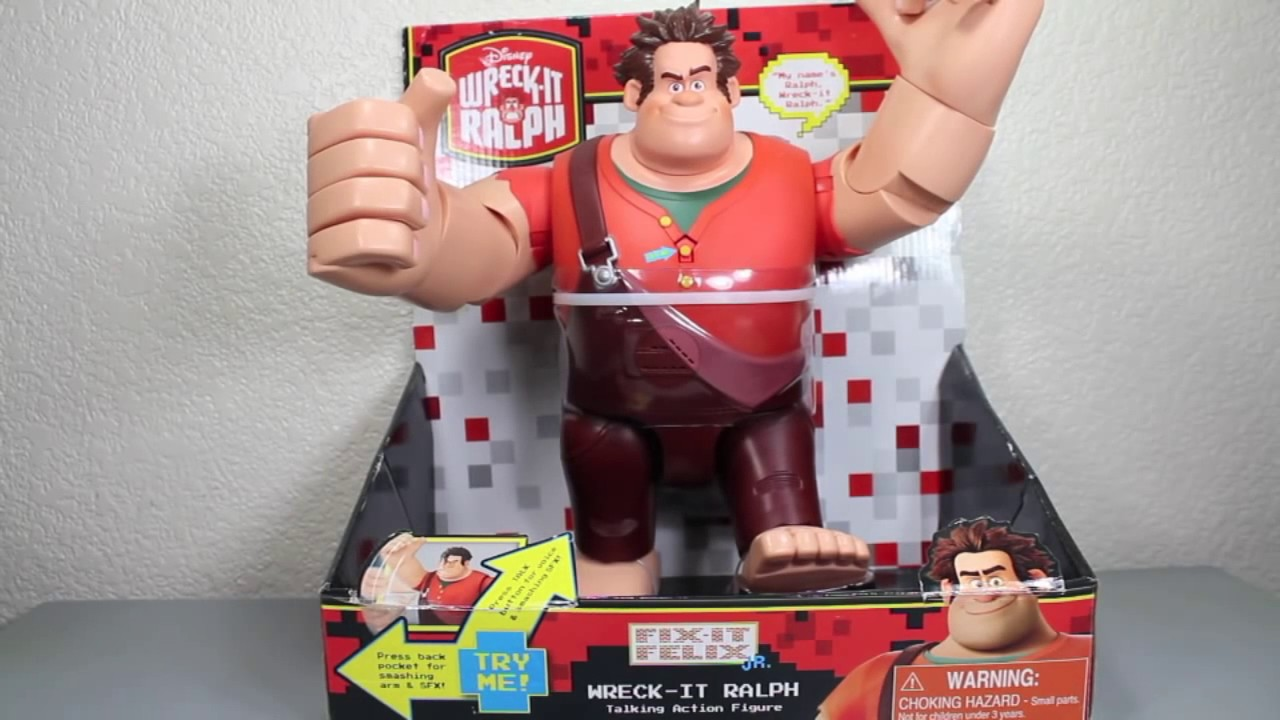 Download Wreck-It Ralph Talking Action Figure Toy Review. Top Christmas Presents 2016