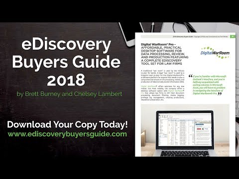 Digital WarRoom - Affordable EDiscovery Software - EDiscovery Buyers Guide