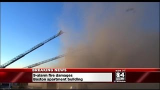 Dozens Displaced After 9-Alarm Fire In Allston