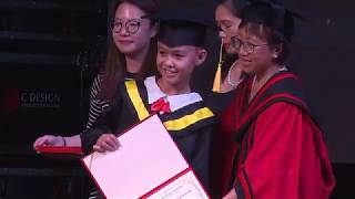 16 Closing Ceremony 201819 Presentation of Certificates to Year 6 and Speech by Iskandar, Zachary an