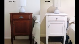Wagner Flexio 585 - Spraying Bedside Tables