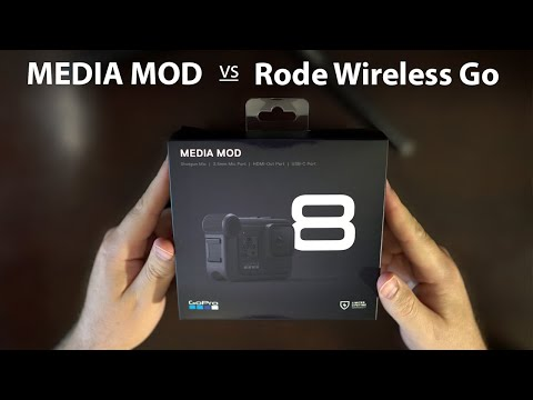 GoPro Hero 8 Media Mod vs Rode Wireless Go
