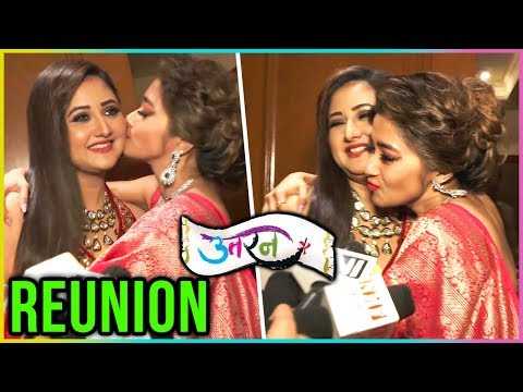 Uttaran Stars Rashami Desai And Tina Dutta REUNITE At An Event