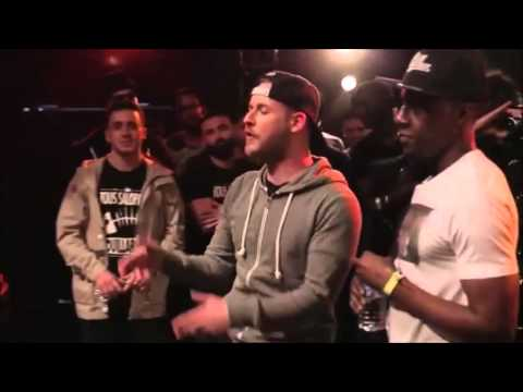Rap Contenders vs Word Up - Battle International - 5 vs 5 Round