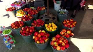 Стоимость фруктов в Грузии. Миссия - найти черешню! Торгуемся на рынке Гори. Цены на рынке Гори