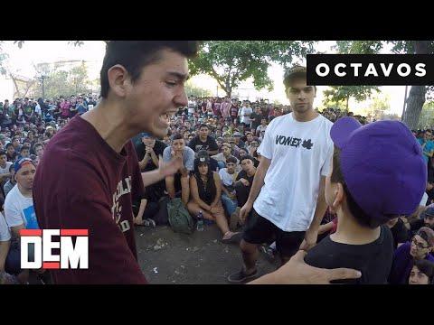 SYAR vs. LUCK MC vs. SNAKE: 8vos - DEM Fecha II 2018