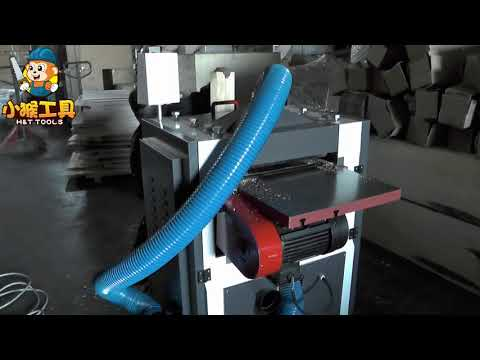 HEAVY DUTY DOUBLE SIDES THICKNESSER WITH SPIRAL KNIVES