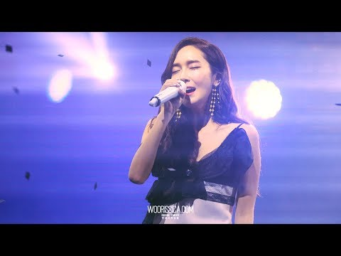 170813 제시카 10주년 콘서트 직캠 - Starry Night