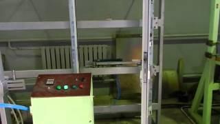 Процесс испытания петли-доводчика для алюминиевых дверей(Стенд заводских испытаний комплекта петель с функцией доводчика. Испытания состоят из 200 000 циклов. Петли..., 2015-03-06T10:46:23.000Z)