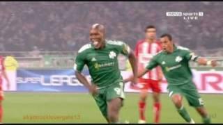 Djibril Cissé vs olympiakos