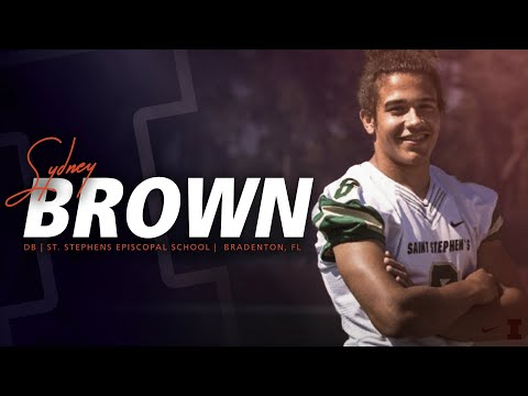 Illini Signing Day 2018 - Sydney Brown