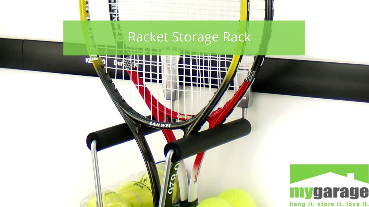 Storage for all kinds of rackets!