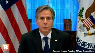 Sec. Blinken Loses His Cool, Snaps at GOP Rep. During Afghanistan Testimony