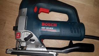 Обзор лобзика Bosch GST 135 BCE
