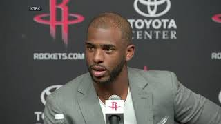 Chris Paul Quotes Ricky Bobby At News Conference | ESPN