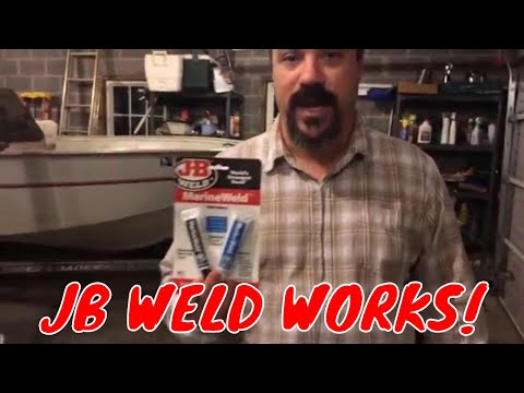 Simple! How to Fix Aluminum Boat Leaks with JB Weld Marine Weld