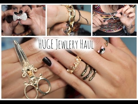 HUGE Cheap Jewelry Haul !! Yesfor.com