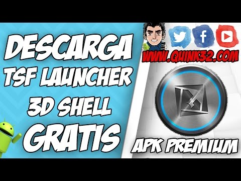 TSF Launcher 3D Shell v.3.8.6