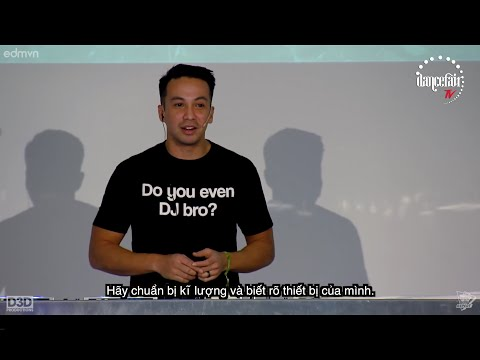 Laidback Luke - Seminar 'Real DJ-ing' @ Dancefair, The Netherlands (2015) VIETSUB