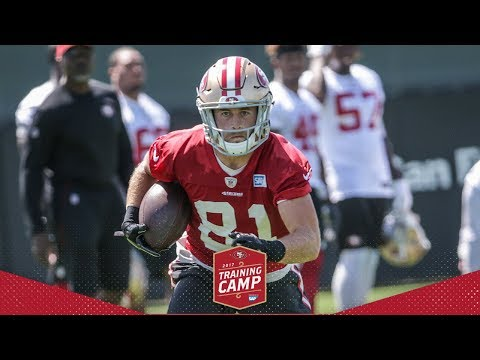 Camp Highlight: Trent Taylor Makes Two Impressive Grabs