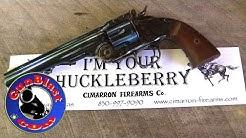 Shooting Cimarron's Uberti Schofield 45 Colt Sixgun - Gunblast.com