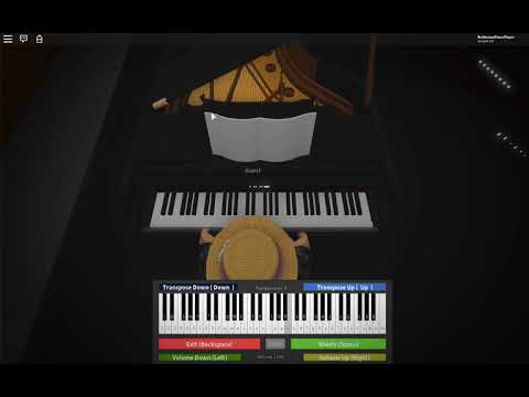 Roblox Virtual Piano Dua Lipa New Rules Advanced Youtube