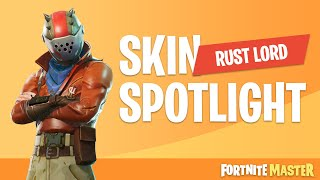Rust Lord Skin Spotlight (Fortnite Battle Royale)