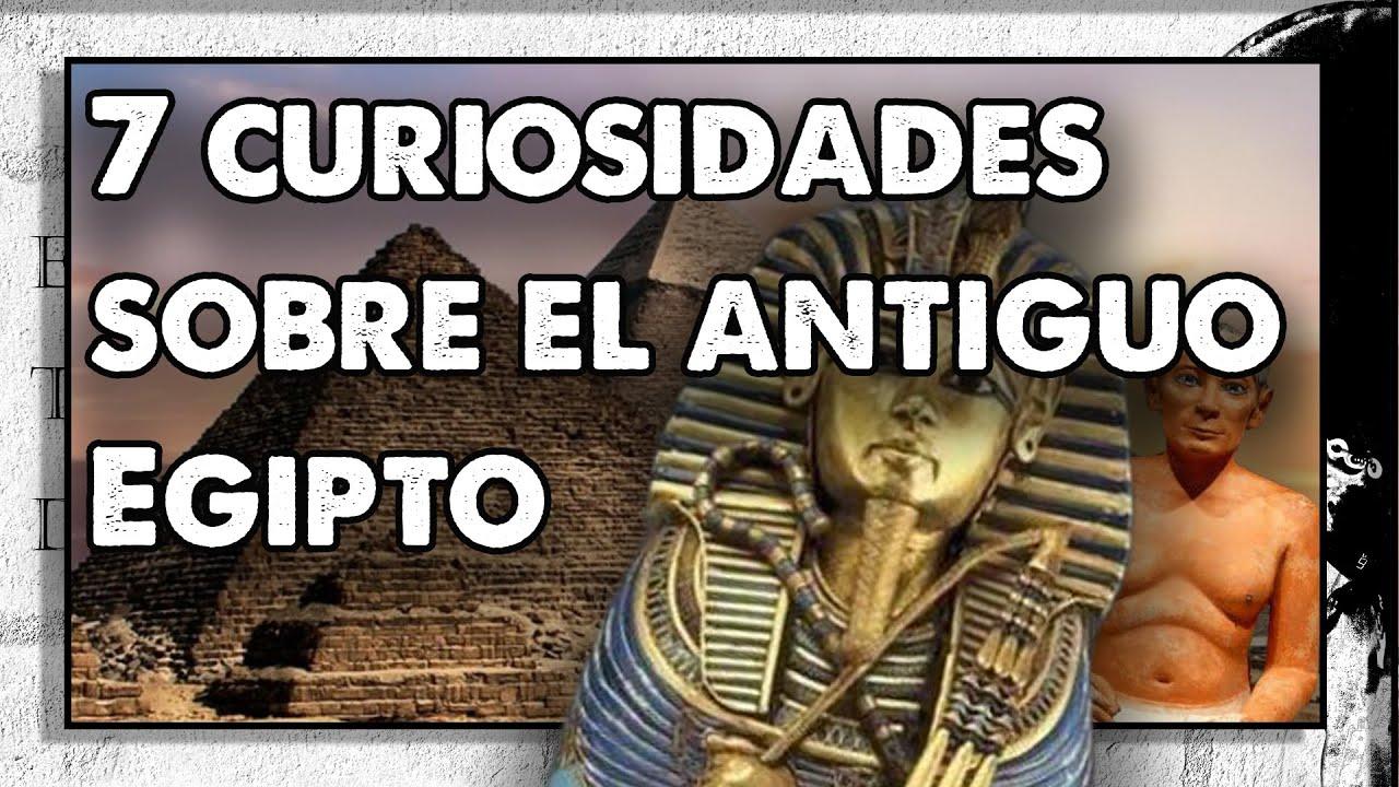 7 curiosidades sobre el antiguo Egipto. Con @Historia en 5 minutos