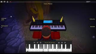 Midnight, the Stars and You by: Al Bowlly on a ROBLOX piano.