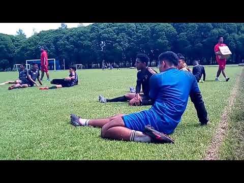 Sesi Latihan Arema Jelang Semifinal Piala Gubernur Melawan Persebaya