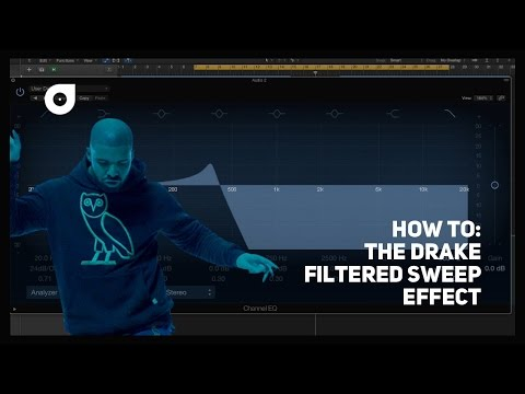 The Drake Filter Sweep Effect