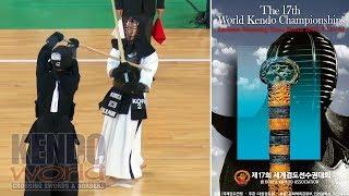 男子個人【準々決勝】Men's Ind. QF: B. PARK (KOR) x Y. KATSUMI (JPN)【第17回世界剣道選手権大会】17WKC
