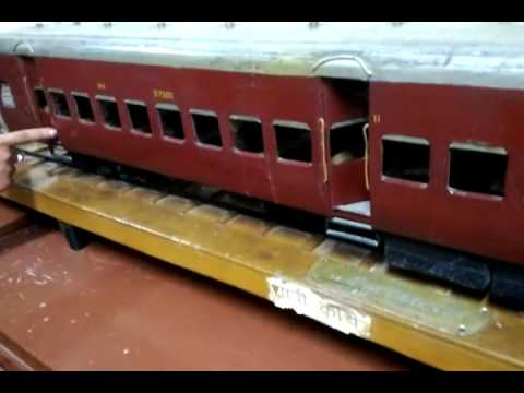 Indian Railway Train Sleeper Class Coach Model
