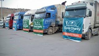 جمعية سيريا شاريتي الفرنسية تختص بالعمل الإغاثي والطبي في الداخل السوري- مهجركوم