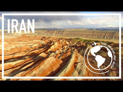 Rainbow mountains, Kandovan, hitchhiking and camping in Iran - A Wop in Iran 2/5 - The Traveling Wop