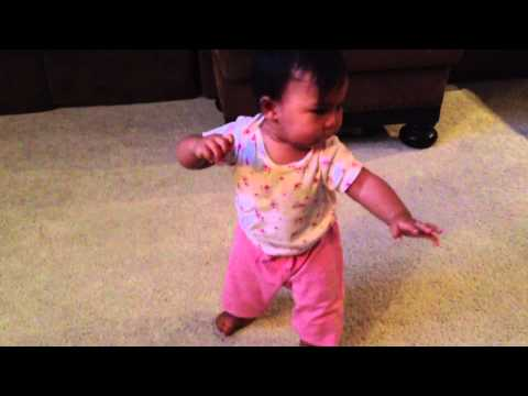 9 month Old Baby Dancing to PSY's Gentleman