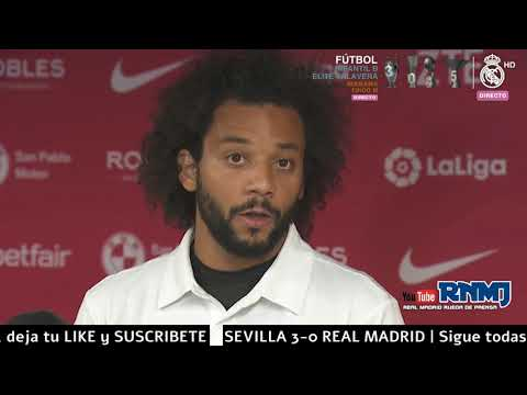 MARCELO declaraciones post Sevilla 3-0 Real Madrid (26/09/2018) | LIGA JORNADA 06