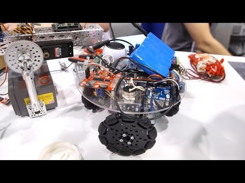 Catching Up with BB-8 Droid Builders at WonderCon 2017
