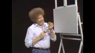 Bob Ross feeds Peapod pet squirrel