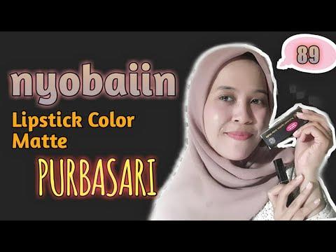 purbasari-lipstick-color-matte-||-shade-89-review-ala-sinta