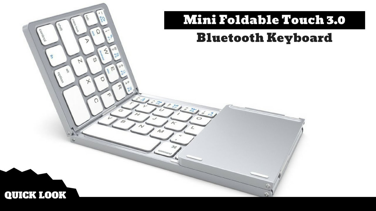 df03fca7c8c Mini Foldable Touch 3.0 Bluetooth Keyboard. Gadget Store