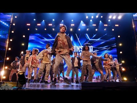 Britain's Got Talent 2018 Futunity Zombies Dancers Full Audition S12E07