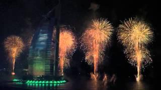 Burj Al Arab 43rd UAE National Day Fireworks