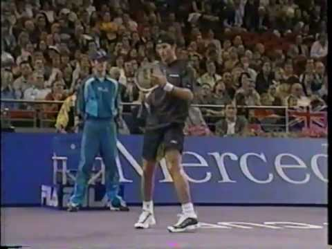 Rafter vs Agassi Masters Cup 2001